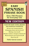 Easy Spanish Phrase Book NEW EDITION: Over 700 Phrases for Everyday Use (Dove... - Chickadee Solutions - 1