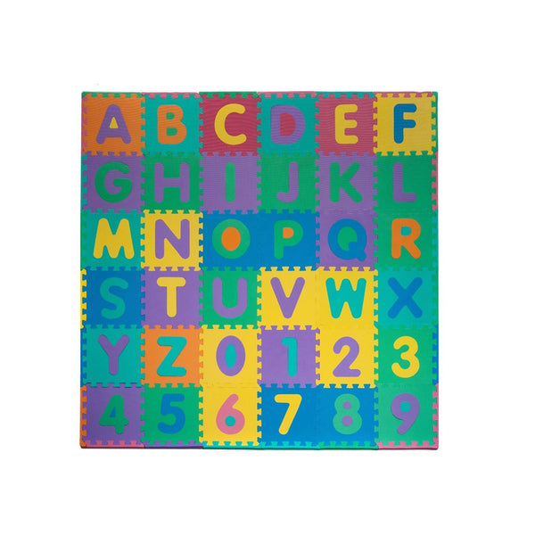 Foam Floor Alphabet And Number Puzzle Mat For Kids 96