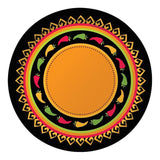 Creative Converting 8 Count Round Banquet Plates Fiesta Grande - Chickadee Solutions