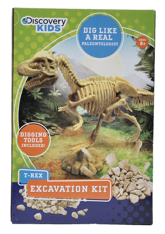 Discovery Kids Dinosaur Excavation Kit - T-Rex - Chickadee Solutions - 1