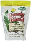 Dandy Blend Instant Herbal Beverage with Dandelion 2 lb. Bag 2 lbs. - Chickadee Solutions - 1