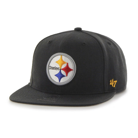 NFL '47 Super Shot Captain Adjustable Hat Pittsburgh Steelers - Chickadee Solutions - 1
