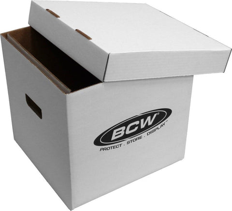 "(1) BCW Brand 12"" Record Album Storage Box with Removable Lid - Holds Up to 6... - Chickadee Solutions"