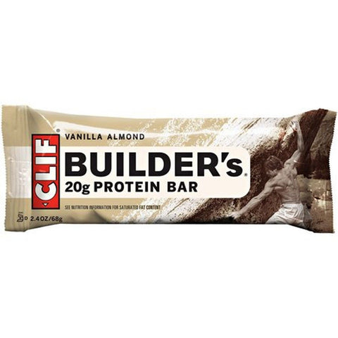 CLIF Builder Energy Bar VANILLA ALMOND - Box of 12 - Chickadee Solutions