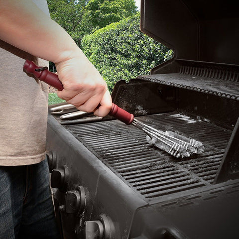 how to clean rust off bbq grill