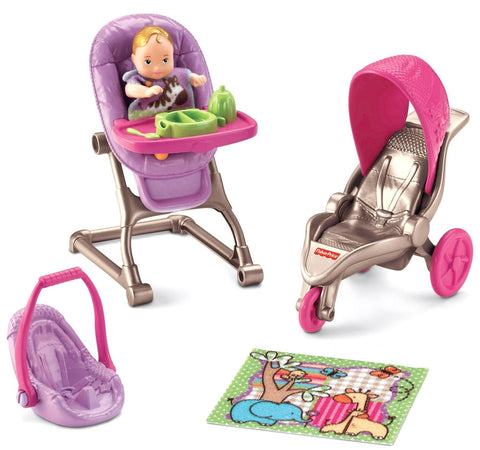 Fisher-Price Loving Family Everything for Baby - Chickadee Solutions - 1