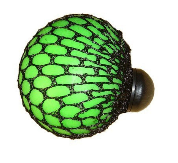 Squishy Squeeze Ball : Squishy Mesh Ball Decompression Stress Reliever Squeeze Toy (Green) Chickadee Solutions