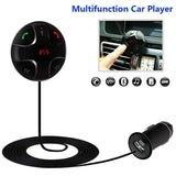 Bluetooth FM TransmitterJZxin Car Kit Hands-Free Wireless Calling Magnetic Mo... - Chickadee Solutions - 1