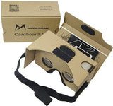 Google Cardboard Kit V2 by MINKANAK Bigger Lens 3D Virtual Reality Cardboard ... - Chickadee Solutions - 1