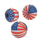 Patriotic Balloon Lanterns 6 Pack - Chickadee Solutions