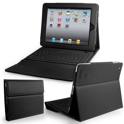Econoled Leather Case w/ Built-in Bluethooth Keyboard for Apple Ipad (1st Gen... - Chickadee Solutions - 1