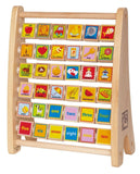 Hape - Early Explorer - Alphabet Abacus Wooden Counting Toy - Chickadee Solutions - 1