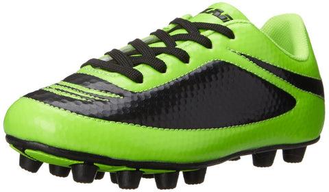 Vizari Infinity FG Soccer Cleat (Toddler/Little Kid/Big Kid) Green/Black - Chickadee Solutions - 1
