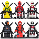 Superb good Deadpool Minifigure Marvel X-Men Super Heroes Marvel Building Blo... - Chickadee Solutions - 1