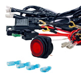LAMPHUS CRUIZER Off Road ATV/Jeep LED Light Bar Wiring Harness Kit - 40 Amp R... - Chickadee Solutions - 1