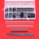 Hilitchi 515 Pcs 40 Pin 2.54mm Pitch Single Row Pin HeadersDupont Connector H... - Chickadee Solutions - 1