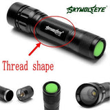 Zebery Zoomable Brightness 3000 Lumens 3 Modes XML T6 LED 18650 Flashlight To... - Chickadee Solutions - 1