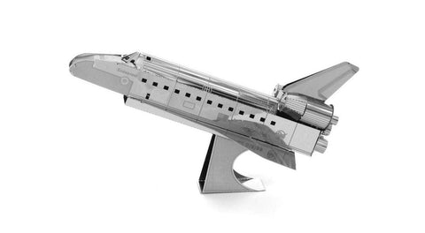 Fascinations Metal Earth Space Shuttle Atlantis 3D Metal Model Kit - Chickadee Solutions - 1