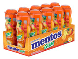 Mentos Gum Pocket Bottle Tropical 1.06 Ounce (Pack of 10) - Chickadee Solutions - 1