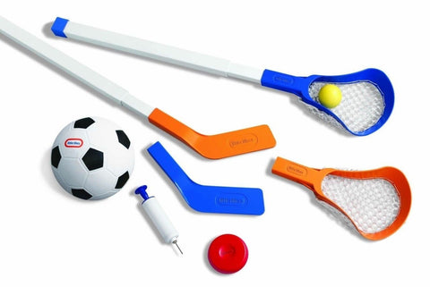 Little Tikes Easy Score Soccer Hockey Lacrosse Set with Net - Chickadee Solutions - 1