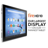 "Fire HD 10 Tablet 10.1"" HD Display Wi-Fi 64 GB Silver Aluminum - Chickadee Solutions - 1"