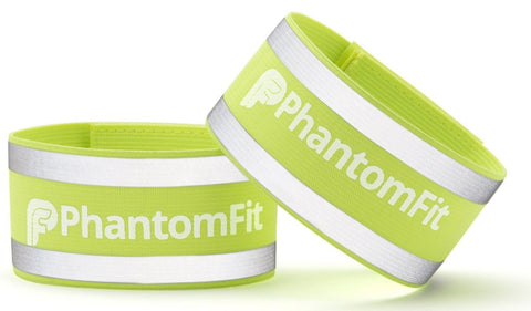Phantom Fit Reflective Ankle Bands - Lifetime Guarantee - Best Reflective Run... - Chickadee Solutions - 1