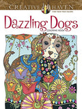 Creative Haven Dazzling Dogs Coloring Book (Adult Coloring) - Chickadee Solutions - 1