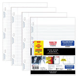 Five Star Filler Paper College Ruled Reinforced Loose Leaf Paper White 100 Sh... - Chickadee Solutions