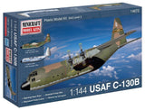 Minicraft C-130B USAF with 2 Marking Options Model Kit 1/144 Scale - Chickadee Solutions