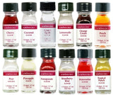 LorAnn Oils Gourmet Super Strength Fruit Flavors (No Oils) 1 Dram Variety Bun... - Chickadee Solutions
