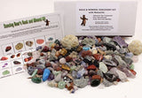 Rock & Mineral Collection Activity Kit (Over 150 Pcs) with Educational Identi... - Chickadee Solutions - 1