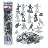 Zombie Action Figures - Big Bucket of 100 Zombies - Includes Zombies Pets Gra... - Chickadee Solutions