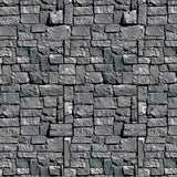 Stone Wall Backdrop Party Accessory (1 count) (1/Pkg) Not Applicable Standard - Chickadee Solutions