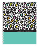 "House of Doolittle 2016 - 2017 Weekly & Monthly Planner Academic Leopard 7"" x... - Chickadee Solutions - 1"