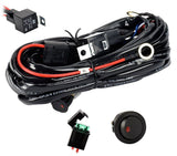 Eyourlife 12V 40A Off Road LED LIGHT Bar On Off Power Switch Relay Wiring Har... - Chickadee Solutions - 1
