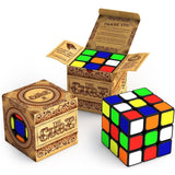 The Cube: Turns Quicker and More Precisely Than Original; Super-durable With ... - Chickadee Solutions - 1