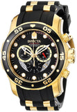 Invicta Men's 6981 Pro Diver Collection Chronograph Black Dial Black Polyuret... - Chickadee Solutions - 1