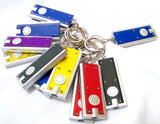 Mini LED Flashlight Key Chain - DOZEN(Colors May Vary) - Chickadee Solutions - 1