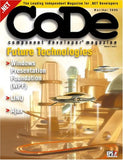 Code - Component Developer Magazine 1 year - Chickadee Solutions