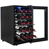 AKDY 18 Bottle Single Zone Thermoelectric Freestanding Wine Cooler Cellar Chi... - Chickadee Solutions - 1