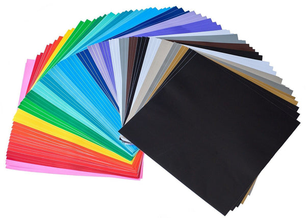 12 x 12 permanent self adhesive premium vinyl sheets 72 for Vinyl sheets for crafts