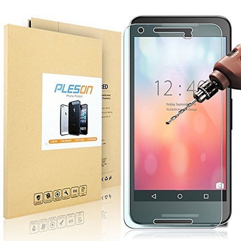 Nexus 5X Screen Protector PLESON LG (Google) Nexus 5X Tempered Glass Screen P... - Chickadee Solutions - 1