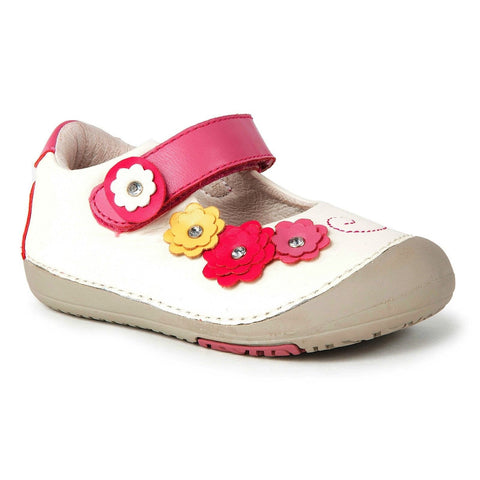 Momo Baby Girls First Walker Toddler Flower Power Mary