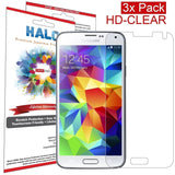 Halo Screen Protector Film High Definition (HD) Clear (Invisible) for Samsung... - Chickadee Solutions - 1