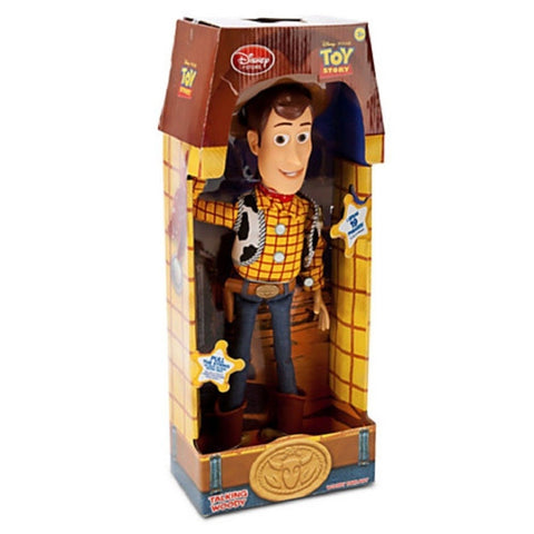 "Toy Story Pull String Woody 16"" Talking Figure - Disney Exclusive Toy Story - Chickadee Solutions - 1"