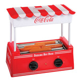 Nostalgia HDR565COKE Limited Edition Coca-Cola Hot Dog Roller with Bun Warmer - Chickadee Solutions - 1