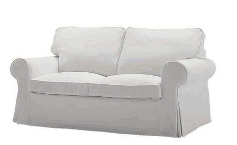Ikea Ektorp Two Seater Sofa Bed Cover . This Ikea Ektorp Slipcover Replacemen... - Chickadee Solutions - 1