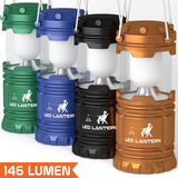 [4 Pack] LED Camping Lantern Flashlights - Hurricane Emergency Tent Light - B... - Chickadee Solutions - 1