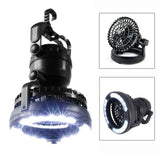 Generic 2-in-1 18 LED Camping Fan Light Combo Hiking Fishing Outages and Emer... - Chickadee Solutions - 1