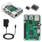Vilros Raspberry Pi 3 Basic Starter Kit--Clear Case Edition - Chickadee Solutions - 1